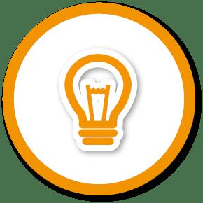 icona bolletta luce dettagliata