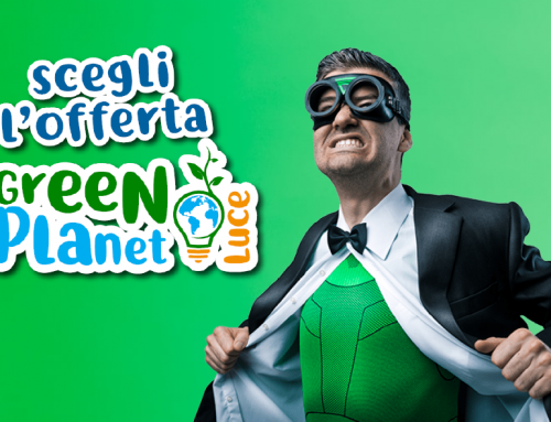 Arriva green planet luce